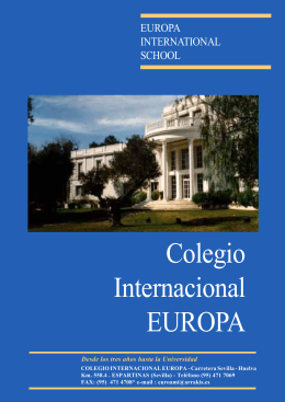 Colegio Internacional EUROPA - Europa International School