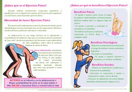 Disfruta con el Ejercicio Físico