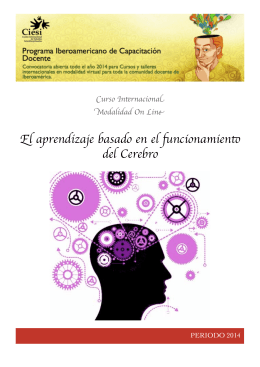 Folleto Cerebro