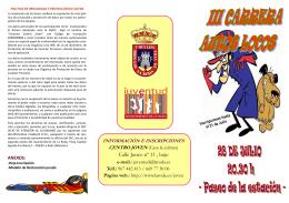 FOLLETO LOS AUTOS LOCOS - Ayuntamiento de La Roda
