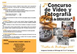 Concurso fotos-video Fiestas 2015- folleto.pub