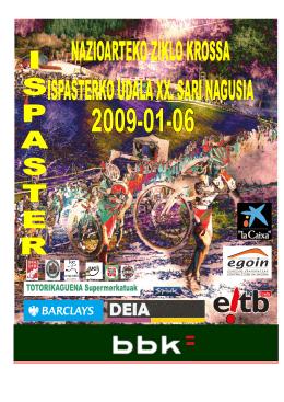 FOLLETO WEB 2009