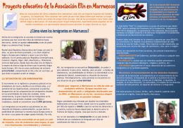 Marruecos se ha convertido en un país no solo de