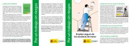 Folleto (pdf, 548 Kbytes) - Instituto Nacional de Seguridad e Higiene
