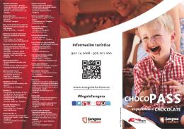 Folleto Chocopass