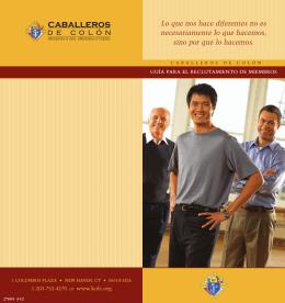 """El folleto """"Cómo…"""" - Knights of Columbus, Supreme Council"""