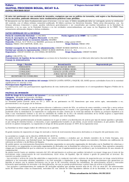 Folleto PDF - Credit Suisse