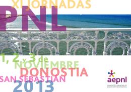 Folleto XI Jornadas Anuales AEPNL 2013