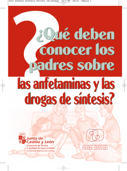 6321 Anfetas Sintesis Folleto Int:drogas