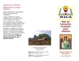Folleto RICA