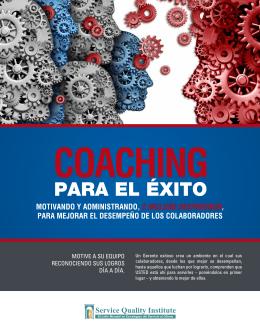 Coaching para el Éxito - Service Quality Institute