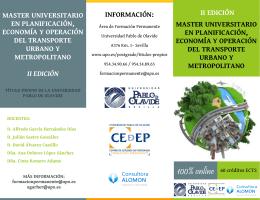 información - Universidad Pablo de Olavide