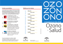 Folleto Ozono