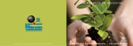 Folleto Día Mundial del Medio Ambiente 2009