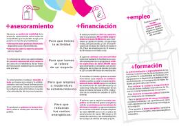 Folleto Campaña + Comercio