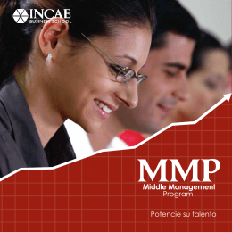 Folleto MMP Salvador - INCAE Business School