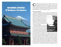 NICHIREN SHOSHU El Budismo Verdadero