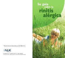 ¿Cómo puede tratarse la rinitis alérgica?