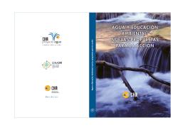 Agua y Educación Ambiental nuevas propuestas para la acción