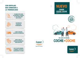 folleto Coche x Coche - Seguros de Coche