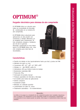 Folleto Optimum
