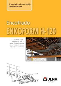 Folleto Encofrado de losa para obra civil ENKOFORM H-120