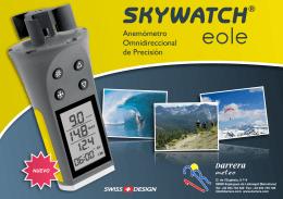 12020 - Skywatch Eole - Folleto - Rev. A