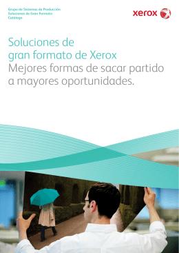 Folleto - Soluciones de Gran Formato de Xerox