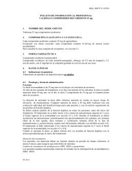 REG. ISP Nº F-18785 FOLLETO DE INFORMACIÓN