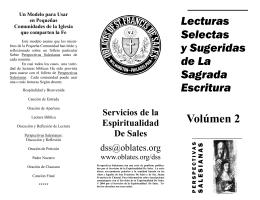 Seleccionadas de La Sagrada Escritura