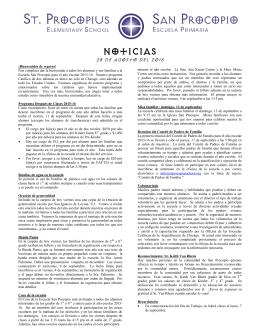 Noticias 8-28-15