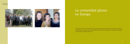 AF folleto gitanos español - Fundación Secretariado Gitano