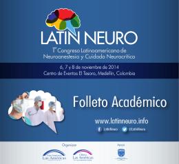 Folleto Académico LatinNeuro Abril 14-2014