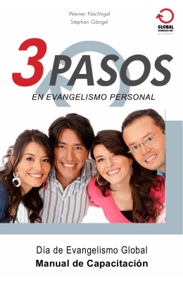 3 Pasos en Evangelismo Personal - Global-Outreach-Day