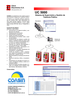 UC 5000 - Coasin