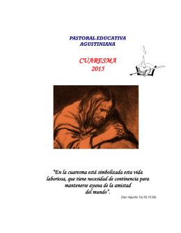 Paraliturgia cuaresma 2015