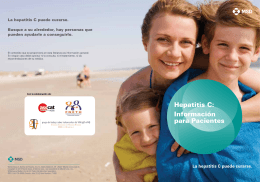 Hepatitis C: Información para Pacientes - Hepatitis