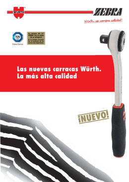 Folleto llave carraca baja