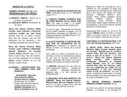 folleto de pesaj 5775 mesianicos alpes sede bogota