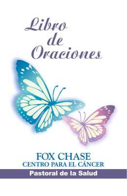 Libro de Oraciones - Fox Chase Cancer Center