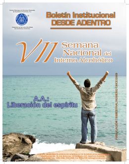 "Boletín ""Desde Adentro"" - Central Mexicana de Servicios Generales"