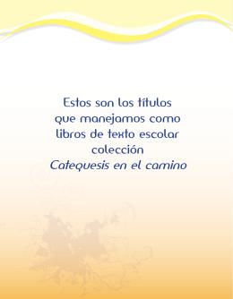 Catequesis en el camino - Editorial Palabra Ediciones