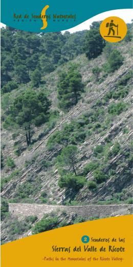 Senderos de las Sierras del Valle de Ricote