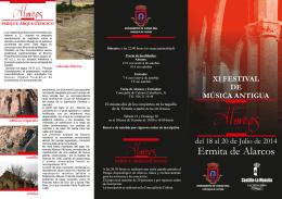 folleto festival de alarcos 2014.cdr