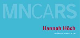 Folleto de Hannah Höch