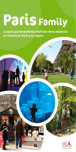 Paris Family Brochure version espagnole