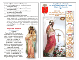 Folleto para entronizar Corazón de Jesús en PDF