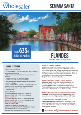 Flandes - folleto