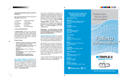 Folleto Medicare Platino - Triple