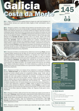 FOLLETO CIRCUITOS CULTURALES ADULTOS 2014